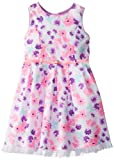 Little Lass Girls 2-6X Floral Print Poplin Dress