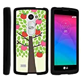 LG Leon Case, Perfect Fit Cell Phone Case Hard Cover with Cute Design Patterns for LG Leon LTE C40, H340N from MINITURTLE | Includes Clear Screen Protector and Stylus Pen - Apple Tree