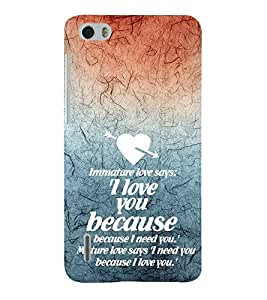 EPICCASE mature love quotes Mobile Back Case Cover For Huawei Honor 6 (Designer Case)