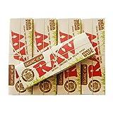 Amazon.co.jpRAW(ロー) オーガニックヘンプ シングル ペーパー 50枚入り ×5個セット 手巻きタバコ 喫煙具
