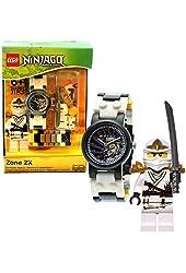 LEGO 9004988 Ninjago Zane ZX Kids' Watch