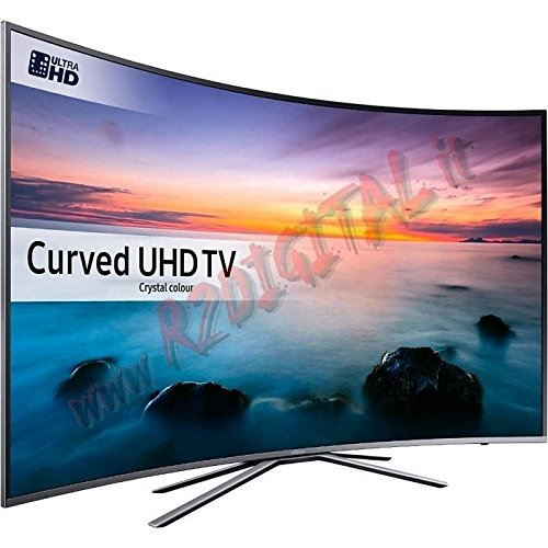 "TV LED 55"" SAMSUNG 4K CURVE UE55KU6172 EUROPA BLACK"