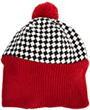 San Diego Hat Girls 2-6x Checkered Pom Pom Beanie