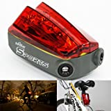 Multi-functional Waterproof Super Bright& Exquisite Bicycle Light