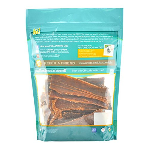 6 inch joint jerky dog treats by best bully sticks 25 pack natural beef jerky dog chews high. Black Bedroom Furniture Sets. Home Design Ideas
