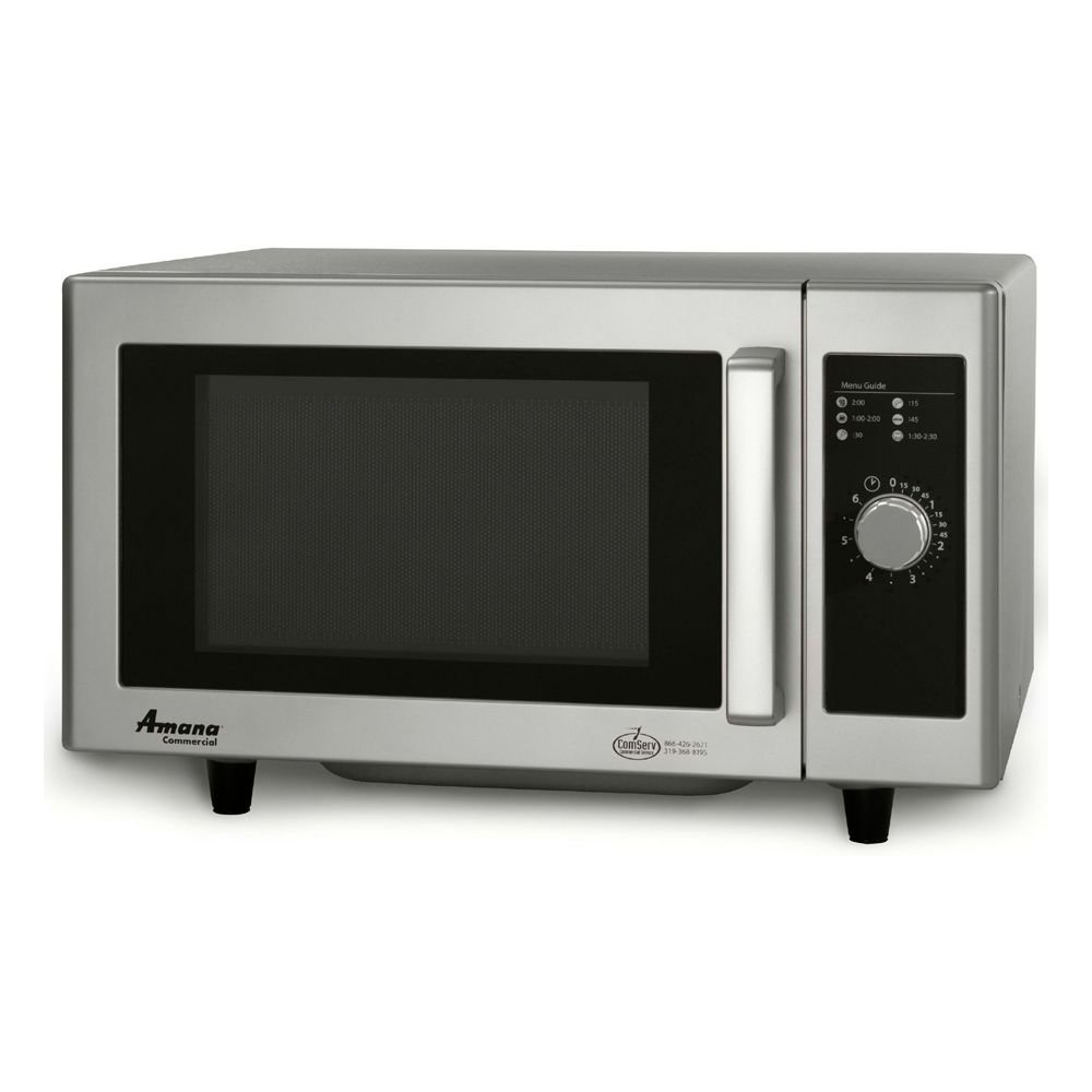 Amana RMS10DS S/S Dial Control 1000 Watt Microwave