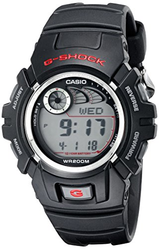 G-Shock G2900F-1V Men's Black Resin Sport Watch