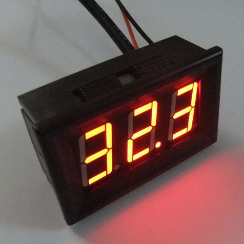 Drok Car Digital Thermometer With Sensor Probe -55-125°C Temperature Meter Re...