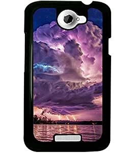 ColourCraft Beautiful scenery Design Back Case Cover for HTC ONE X