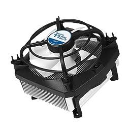 ARCTIC Alpine 11 Pro Rev. 2 CPU Cooler - Intel, Supports Multiple Sockets, 92mm PWM Fan at 23dBA