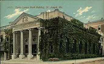 Tootle Lemon Bank Building St Joseph Missouri Original