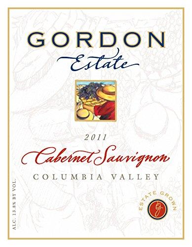 2011 Gordon Estate Columbia Valley Estate Cabernet Sauvignon 750 Ml