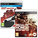 Medal of Honor Warfighter and Need for Speed Most Wanted Bundle (PS3)