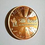Silk Road Bitcoin 1 Oz .999 Copper Commemorative Coin