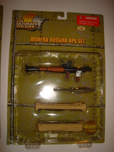 The Ultimate Soldier MODERN RUSSIAN RPG SET - 1
