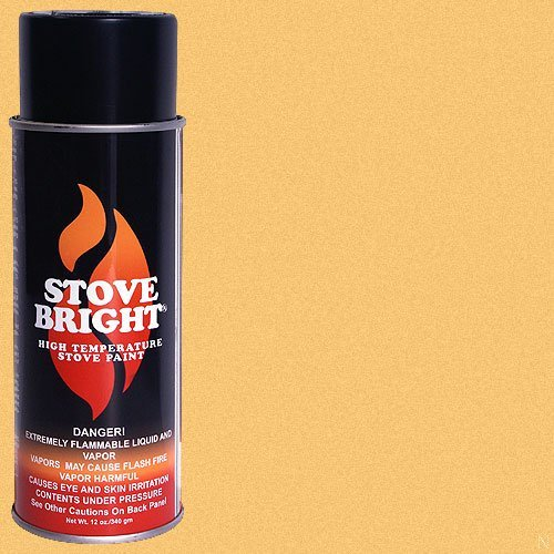 Stove Bright High Temp Paint - Gold (Radiator Spray Paint compare prices)