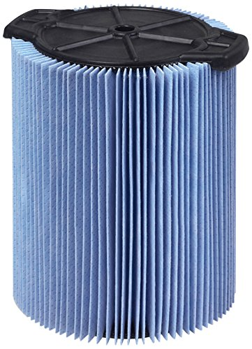 WORKSHOP Wet Dry Vac Filters WS22200F2 Fine Dust Wet Dry Vacuum Filters (2-Pack - Shop Vacuum Cleaner Filters) For WORKSHOP 5-Gallon to 16-Gallon Shop Vacuum Cleaners (Genie Vac Filter compare prices)