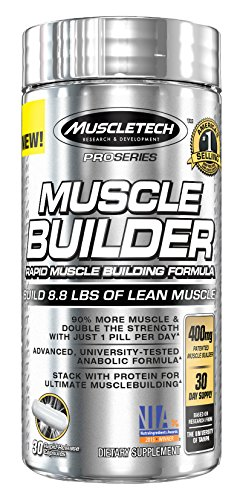 MuscleTech Pro Series Muscle Builder, Rapid Muscle Building Formula