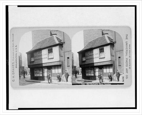 Historic Print (L): Old Curiosity Shop, London