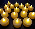 Leder LED Battery Tea Candle Lights,...
