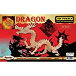3-D Dragon Puzzle: 148 Wooden Pieces...