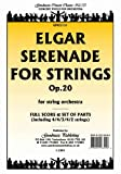 img - for Serenade For Strings: Score and parts for orchestra book / textbook / text book