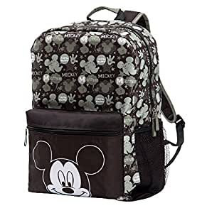 disney mickey mouse diaper bag backpack black sage baby. Black Bedroom Furniture Sets. Home Design Ideas
