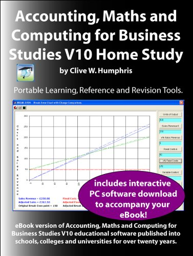 Accounting, Maths and Computing for Business Studies V10 Home Study