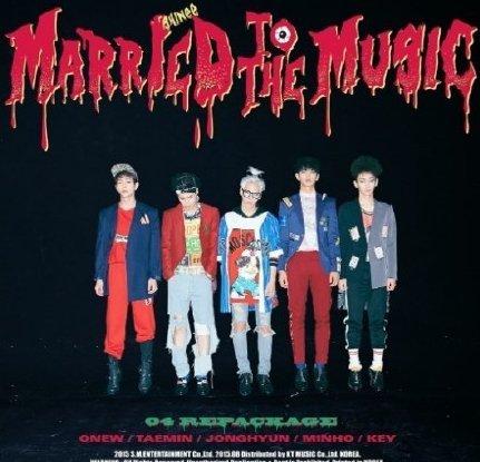 【先行販売】【Ktouwn特典付き】[CD+初回ポスター+ミニフォトカード]SHINee(シャイニー):リパッケージ4集アルバム[Married To The Musicメアリートゥザミュージック](韓国版)