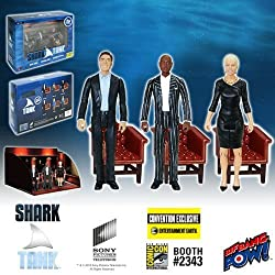 Shark Tank Mark, Daymond, Barbara 3 3/4-Inch Figure-Con Excl