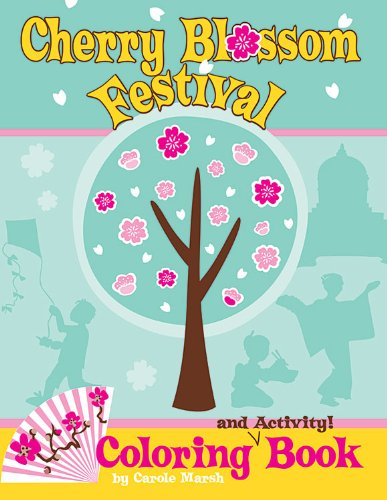 Cherry Blossom Festival Coloring and Activity Book PDF
