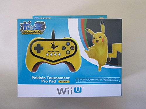 Pokken-Tournament-Pro-Pad-Limited-Edition-Controller-for-Nintendo-Wii-U-Pikachu-Version