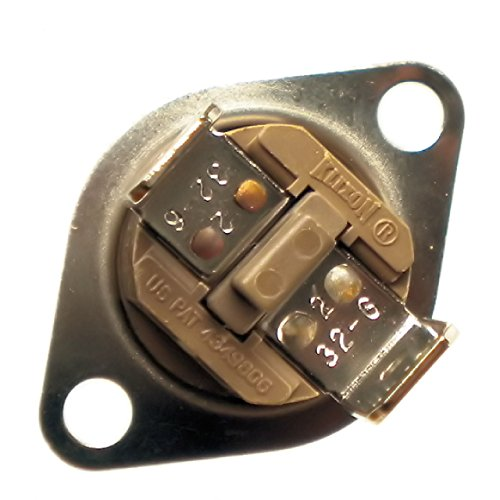Manual Reset Rollout Limit Switch Onetrip Parts® Replacement For York Coleman Evcon Luxaire S1-02527792001 front-600597