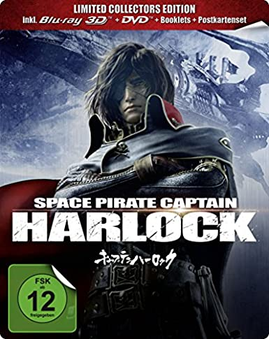 Space Pirate Captain Harlock, 3D Blu-ray