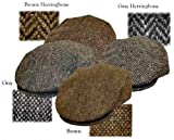 Hanna Hats Irish Tweed Flat Cap