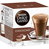 Nescafe Dolce Gusto Chococino 16 Capsules, 8 Servings - Pack of 3 (Total 48 Capsules, 24 Servings)