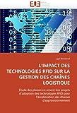 echange, troc Ygal Bendavid - L'Impact Des Technologies Rfid Sur La Gestion Des Chaines Logistique