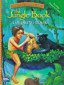 Amazon.com: The Jungle Book - Coloring Book: Toys & Games