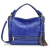 Melie Bianco Kira Hobo Shoulder Bag, Blue, One Size