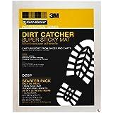 """3M DCSP 26"""" x 32"""" Hand-Masker Tack Mats Dirt Catcher Super Sticky Mat Starter Pack with 15 Sticky Sheets"""