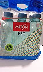 Milton Water Bottel Oscar 1 LIter 6 Piece - (Color May Vary)