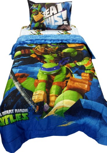 Nickelodeon Teenage Mutant Ninja Turtles Comforter - Twin front-1069698