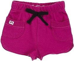 Appaman Baby Girls' Softie Shorts (Toddler/Kid) - Goji Berry - 3-6 Months