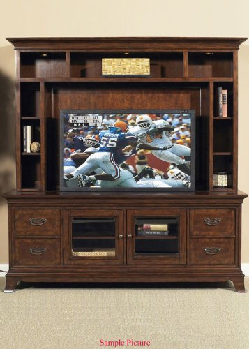 Cheap Entertainment TV Stand by Liberty – Bronze Cherry Finish (383-TV00) (383-TV00)