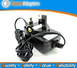 Argos Bush 9 Inch APX915A-UK Portable DVD player ac/dc 9 volt power supply charger cable