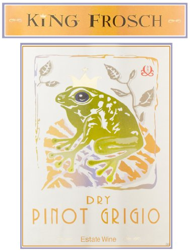 2011 King Frosch Pinot Grigio Unoaked 750 Ml