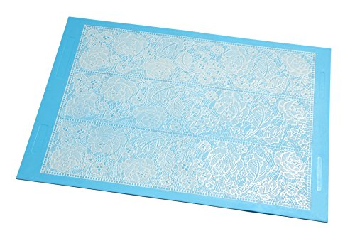 Sugarveil 174 Rose Mantilla Mat Extra Large Food Beverages