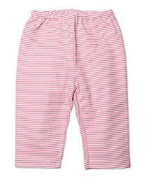 Zutano Unisex Baby Candy Stripe Pant, Hot Pink, 18 Months