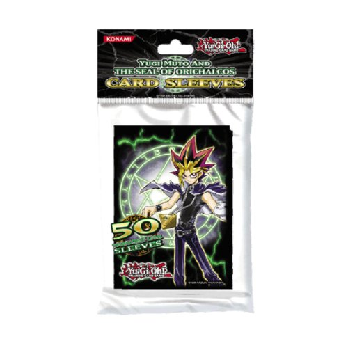 Yugi Muto and The Seal of Orichalcos Card Sleeves (Smaller Size - 50 ct) - 1
