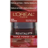 L'Oreal Paris Revitalift Triple Power Deep-Acting Moisturizer For All Skin Types, 1.7 Ounce